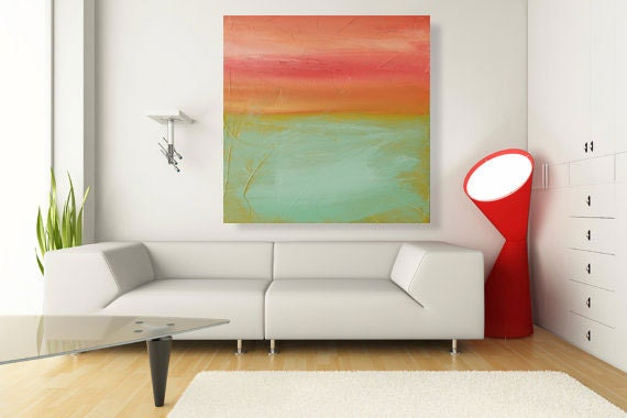 Abstract, Acrylic Painting, Large Painting abstract art - Sublime Landscape 4 -30x40