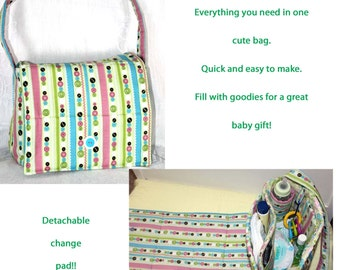quick and easy diaper bag