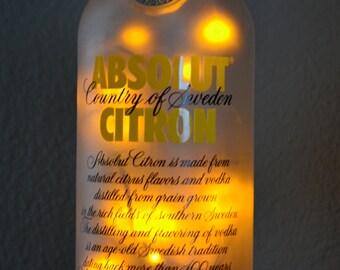 Absolut Citron LED Light