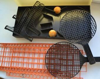Soviet table tennis net  - tennis game set, 60s-70s, unused