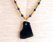 Blue Agate Necklace...