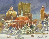 Asheville in Winter