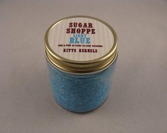 Light Blue Sugar 4oz for rimming, dusting, or cake decorating