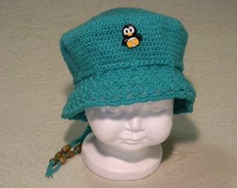 Baby Girl Crochet Hat Jade