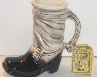 1971 McCoy Pottery Boot Stein