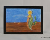 "Postcard - ""Seeding Forth"" - Art by Donna D'Orio"