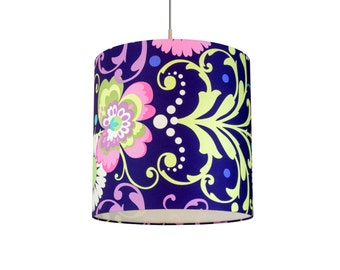 Russian Art Handmade, Boutique Lampshade, Hanging Lamp, Lamp Retro Deluxe