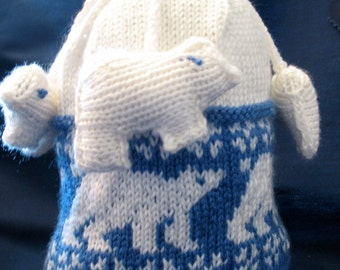 Polar Bear Children's Cap
