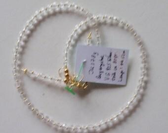 Bergcrystal  Necklace  (JK 378g)