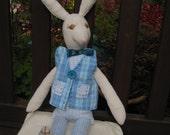 Handsewn Toy Rabbit