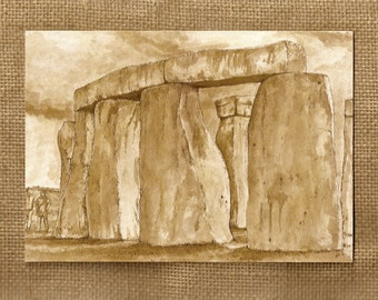 Stonehenge, Wiltshire, UK - Pack of 3 x A5 Greetings Cards