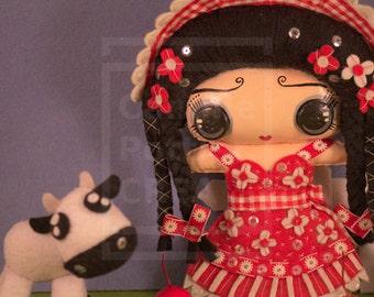 Myrtille/OOAK/Handmade Doll