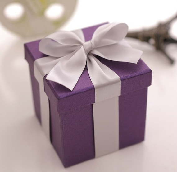 Wedding Favour Gift Boxes Uk : ... silk Ribbons , Wedding Favor Candy Box , DIY Party Paper Favor Box