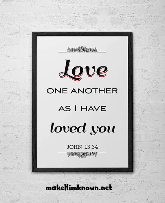Love One Another: Unavailable Listing On Etsy