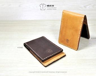 MICO Hand-stitched Card holder / slim wallet