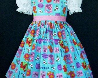 NEW Handmade Sesame Street Abby Cadabby Dress Custom Sz 12 month/2T/3T