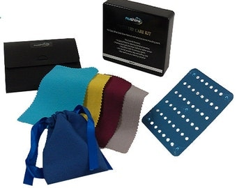 Nushine Jewellery Care Kit - a complete solution for precious metals and gems