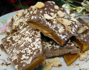 Butter Toffee with Almonds
