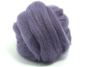 Heather (soft purple) - Shetland Wool Top - Roving - Needle/Wet/Nuno Felting Wool - Spinning
