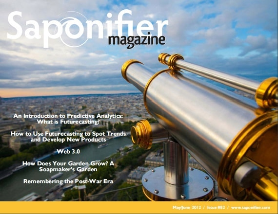 Saponifier Back Issue: May/June 2012
