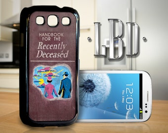 Galaxy S3 Case - Beetlejuice Handbook for The Recently Deceased Cover GS3