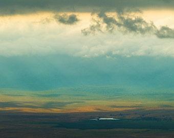 Ngorogoro Crater Lake, Tanzania. Fine Art Landscape Photography by Roy Hsu