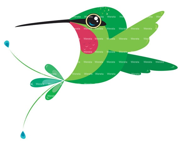 to Hummingbird Clip Art - digital clip art graphics - digital clip art ...