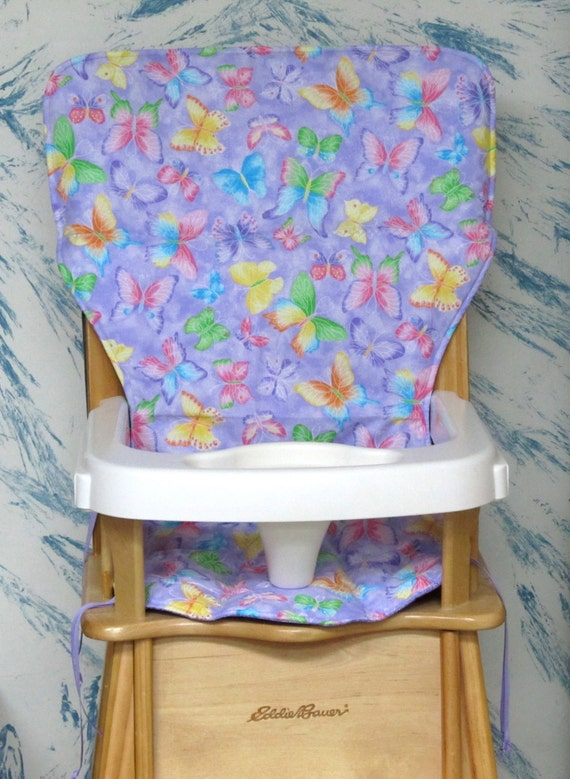 Eddie Bauer Jenny Lind Wood High Chair Cover Padsparkle
