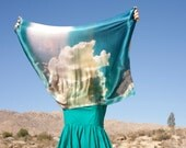 Landscapes Collection: Desert Clouds Scarf