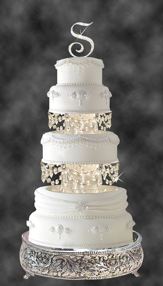 Crystal Cake Plate Without Stand