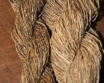 Organic Hand Spun Hemp Yarn
