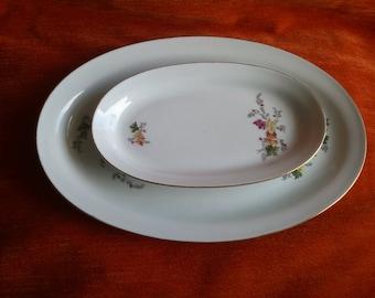 Collectible GDR COLDITZ Porcelain Platter Serving Dish Ceramic Tableware
