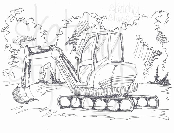 digger s coloring pages - photo#17