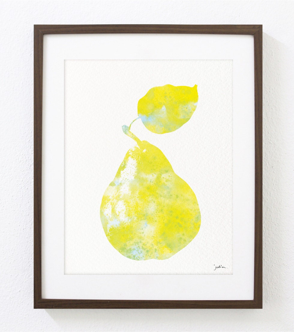 Pear Wall Art - Elitflat