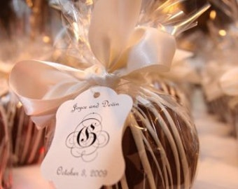 25 Chocolate Caramel Dipped Apples
