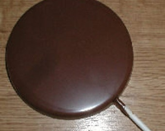 3.5 inch Round Plain Lolly Chocolate Mold