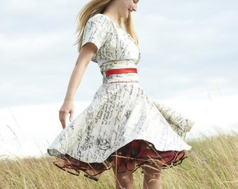 CIRCLE SKIRT WITH PETTICOAT