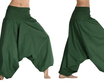 Fairtrade - cotton Alibaba-pants - cotton harem pants