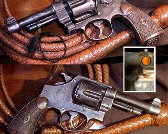 Prop Pistol Revolver Movie Indiana Jones Raiders Of The Lost Ark S&W Mark VI