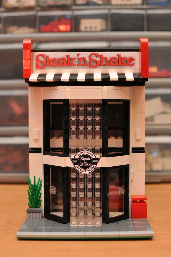 Custom City Fast Food Diner Restaurant Shakes By