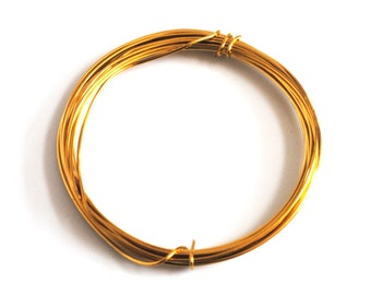 Proops Gold Plated Wire 0.4mm x 15m. Various Quantities Available. (X1102). Free UK Postage.