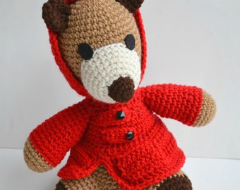 Teddy Bear amigurumi Mr. Covington