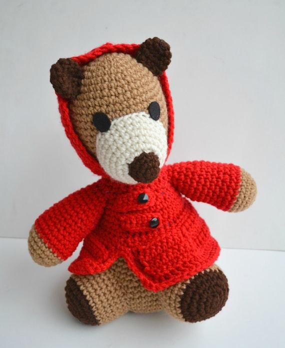 Teddy Bear amigurumi Mr. Covington