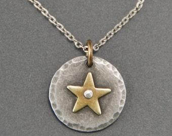 Petite Star Pendant