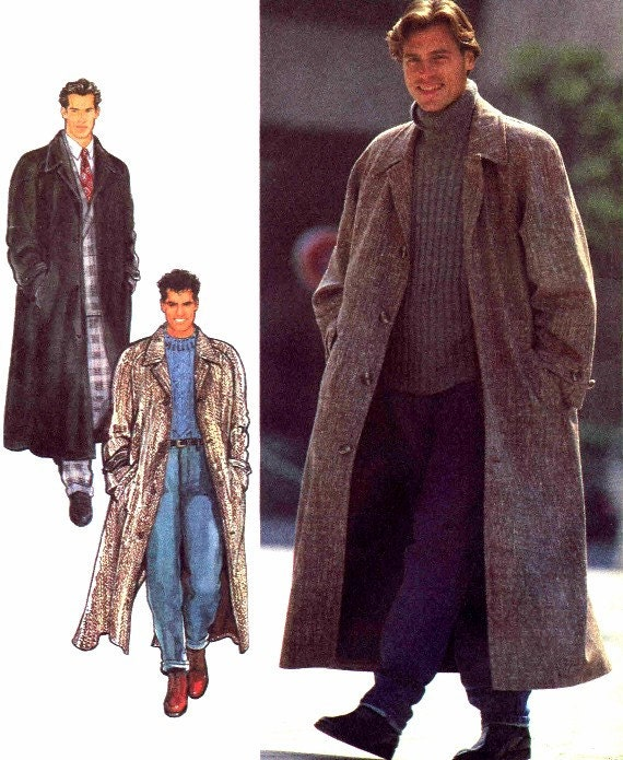Mens Trench Coat Sewing Patterns - Sweater Tunic