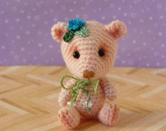 PDF PATTERN - Amigurumi Crochet Tutorial Pattern Miniature Primulina Bear