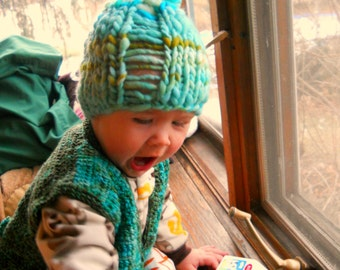 Cool Boy Hat Pattern for Kids or Adults