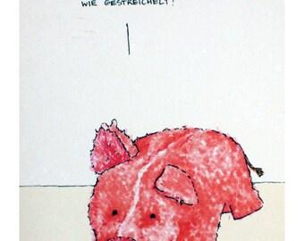 3 postcards - Von schönen Dingen - A6 - 100% ECO recycled paper