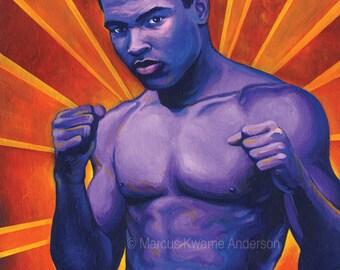 Muhammad Ali 8x11 Archival Print