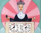 St. Teresa of Avila, Patron Saint of Chess Players